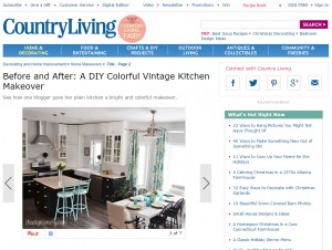 The DIY Mommy in Country Living
