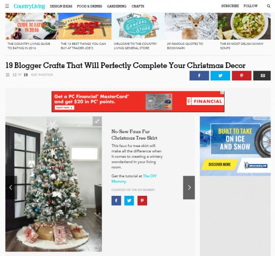 Country Living December 2015