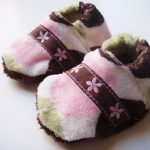 Sew Soft Baby Slippers by The DIY  Mommy