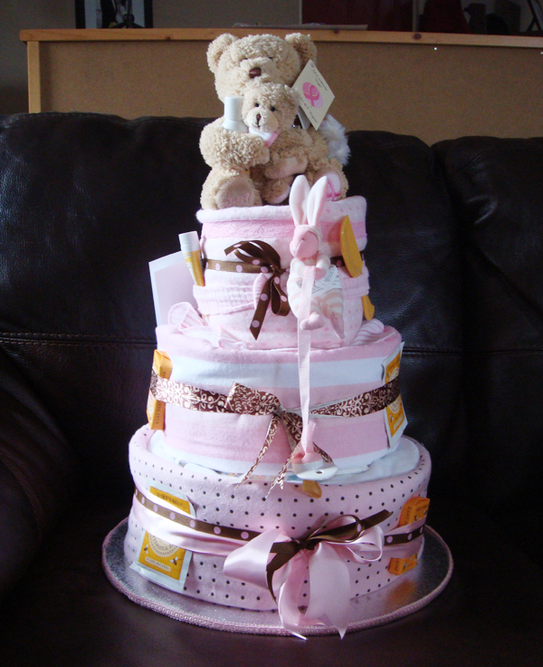 How To: Make a Diaper Cake