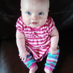 Make Baby Leg Warmers from Socks by The DIY Mommy
