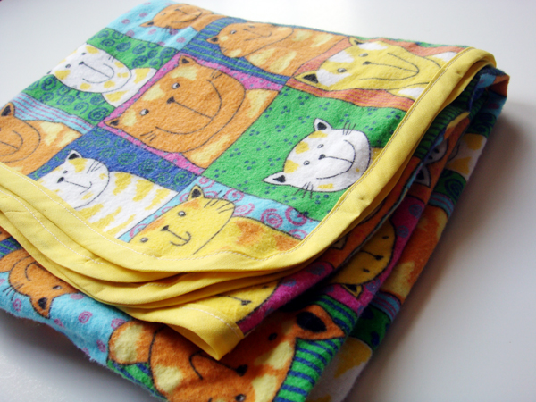 Make a Simple, Bound Receiving Blanket