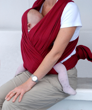 Baby Picture on Homemade Baby Slings     How To Make Your Own Baby Sling    The Diy
