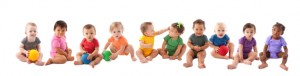Row of Babies