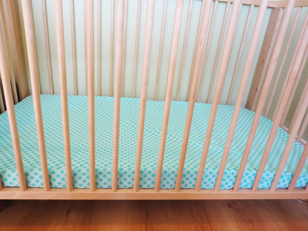 Making Baby Crib Sheets