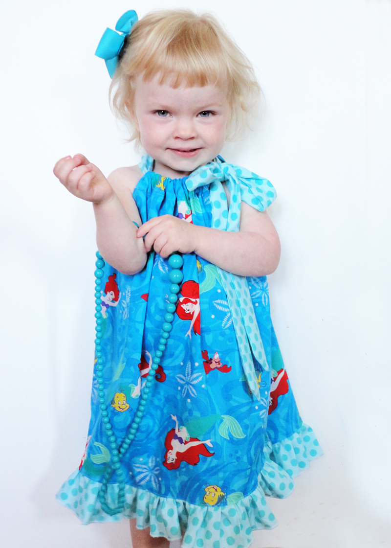 Sew a Ruffled Tie Dress