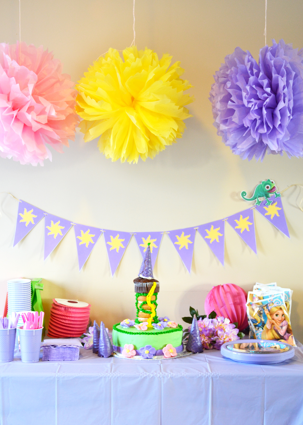 Throw a Rapunzel Theme Party