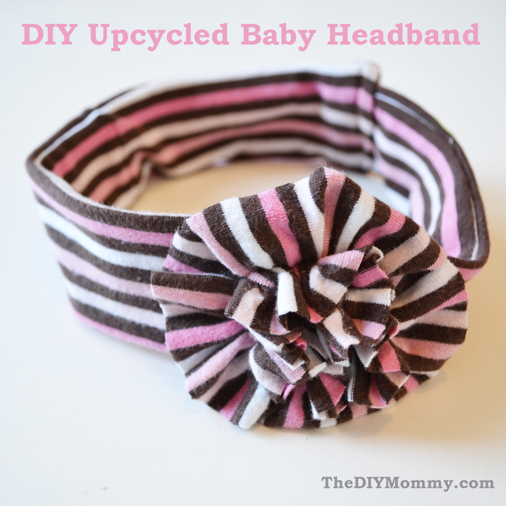 Upcycled Baby Headband