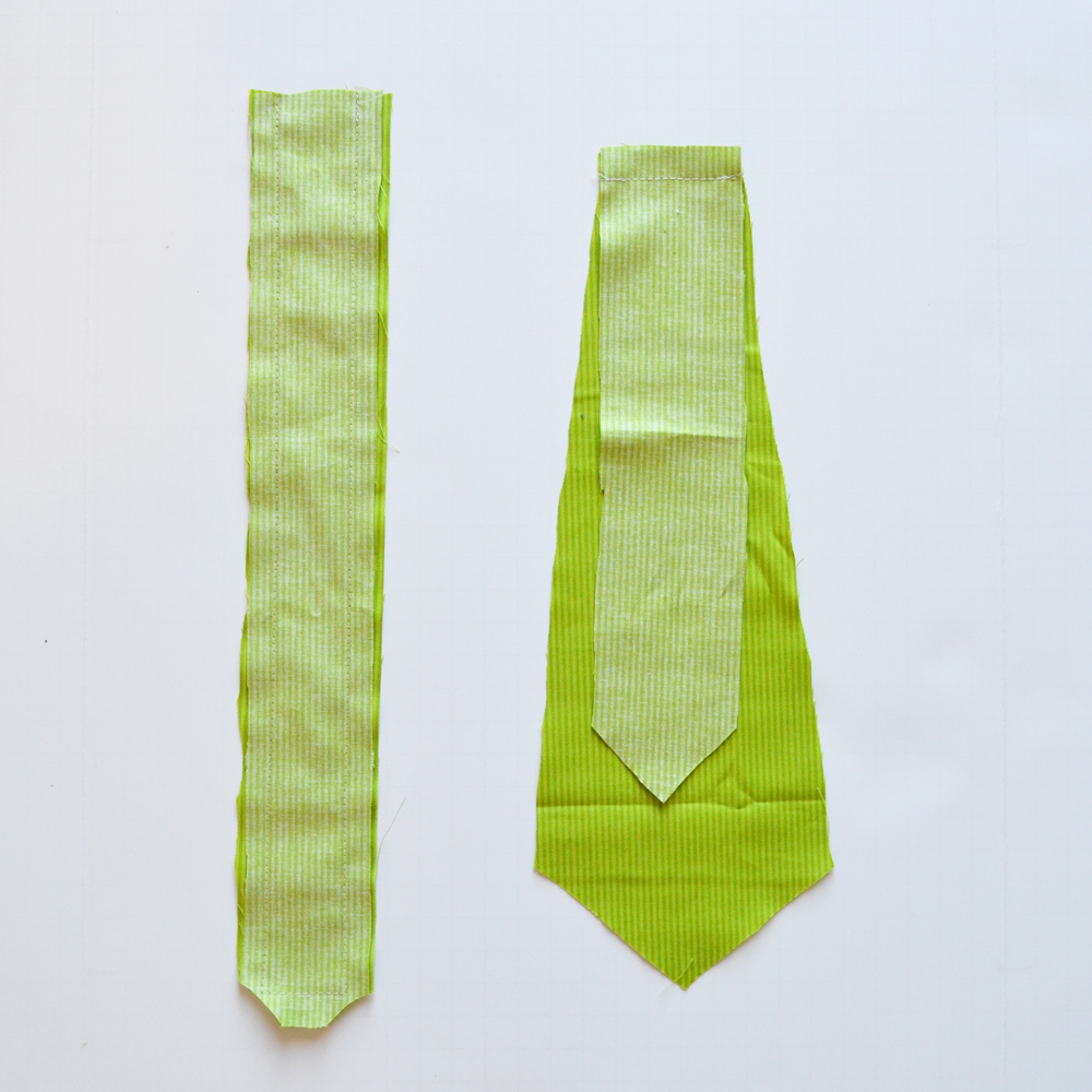 a free pattern and tutorial for how to sew a baby necktie