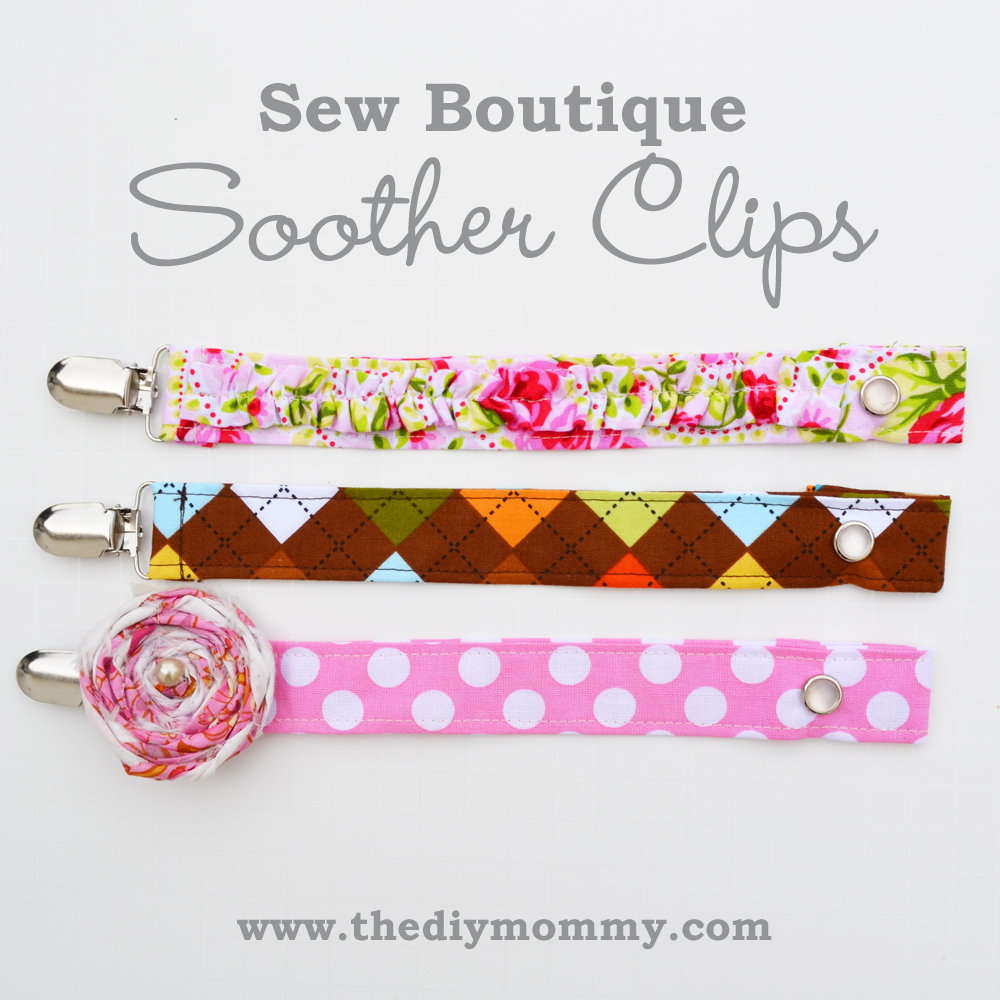 Sew Boutique Soother Clips