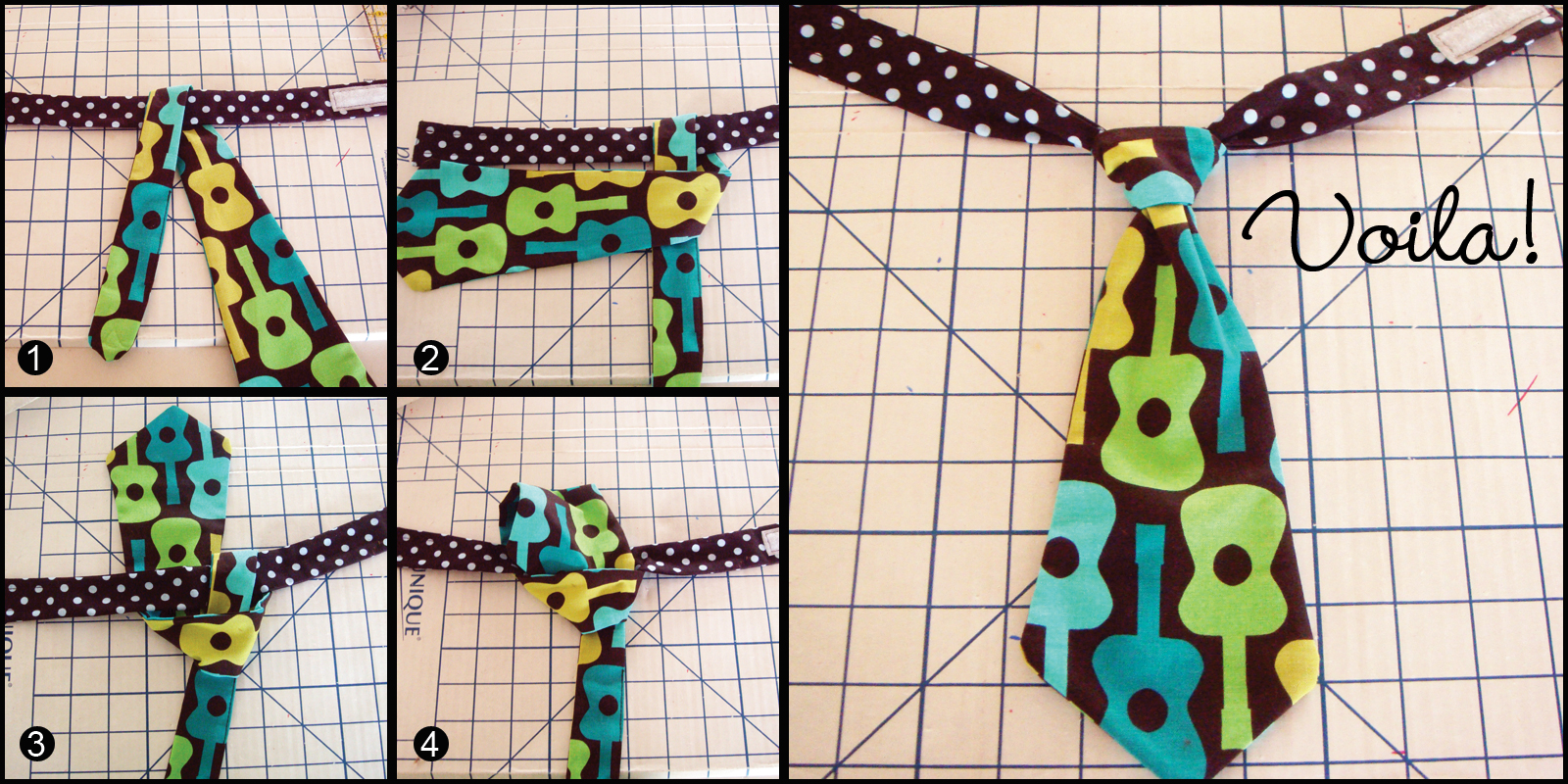 A free pattern and tutorial for how to sew a baby necktie tie the to assemble the tie ccuart
