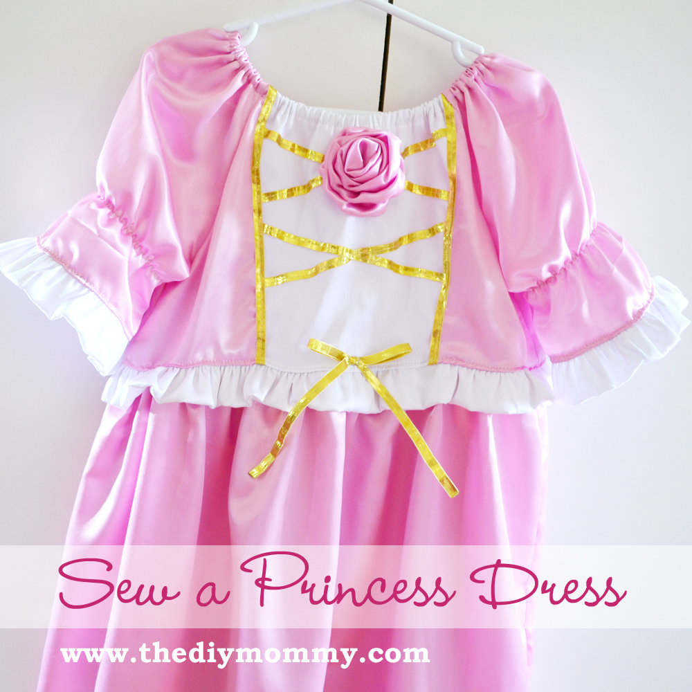 Princess Dress Tutorial from The DIY Mommy