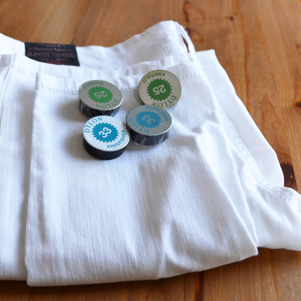 DIY Mint Jeans by The DIY Mommy