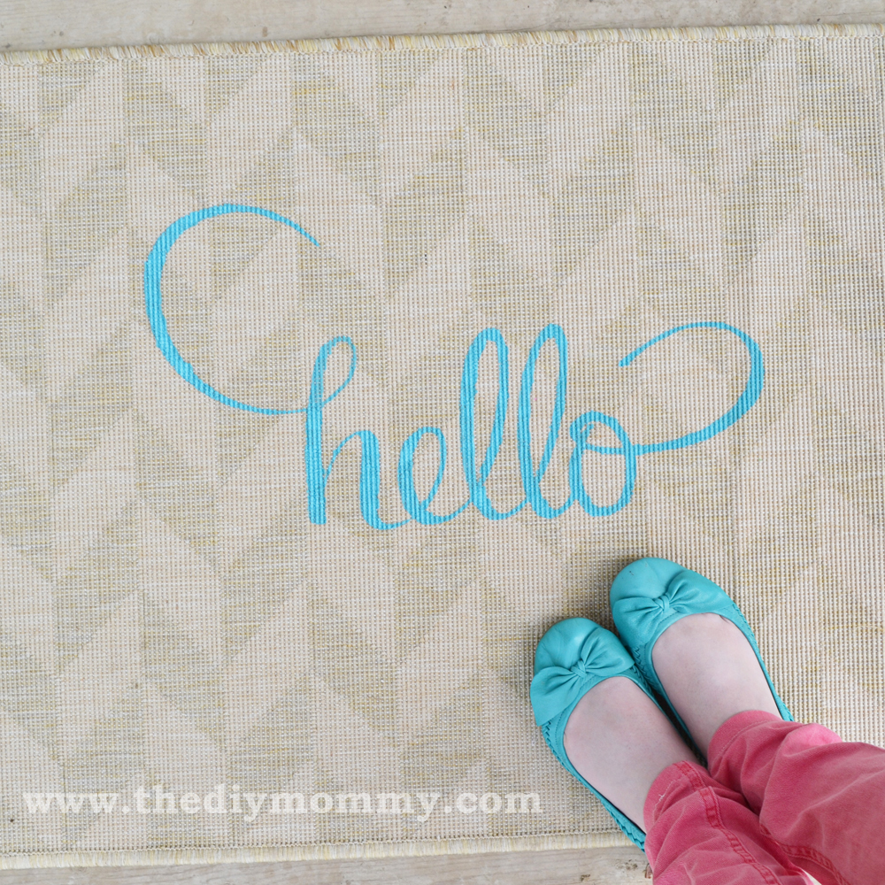 "Make A ""Hello"" Mat"
