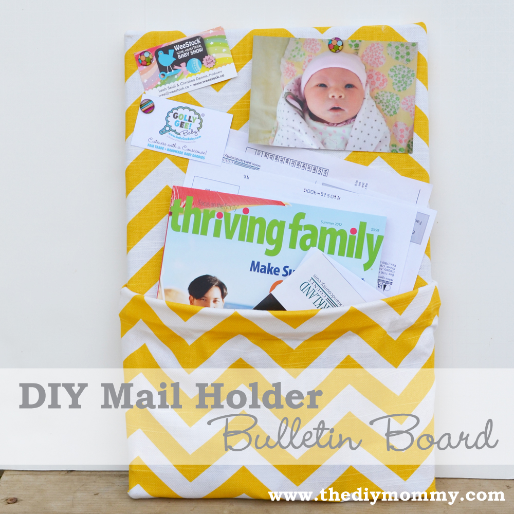 Make a Mail Holder Bulletin Board
