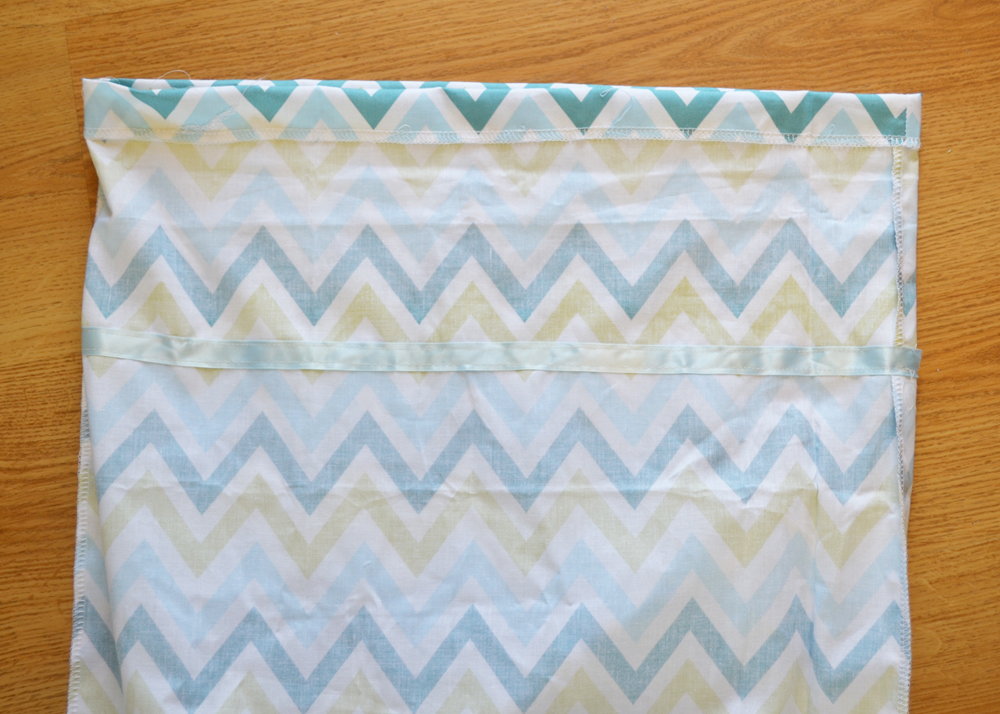 One Yard Chevron Dress Tutorial by The DIY Mommy