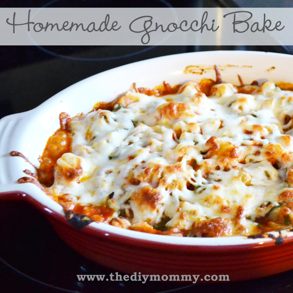Make Homemade Gnocchi Bake