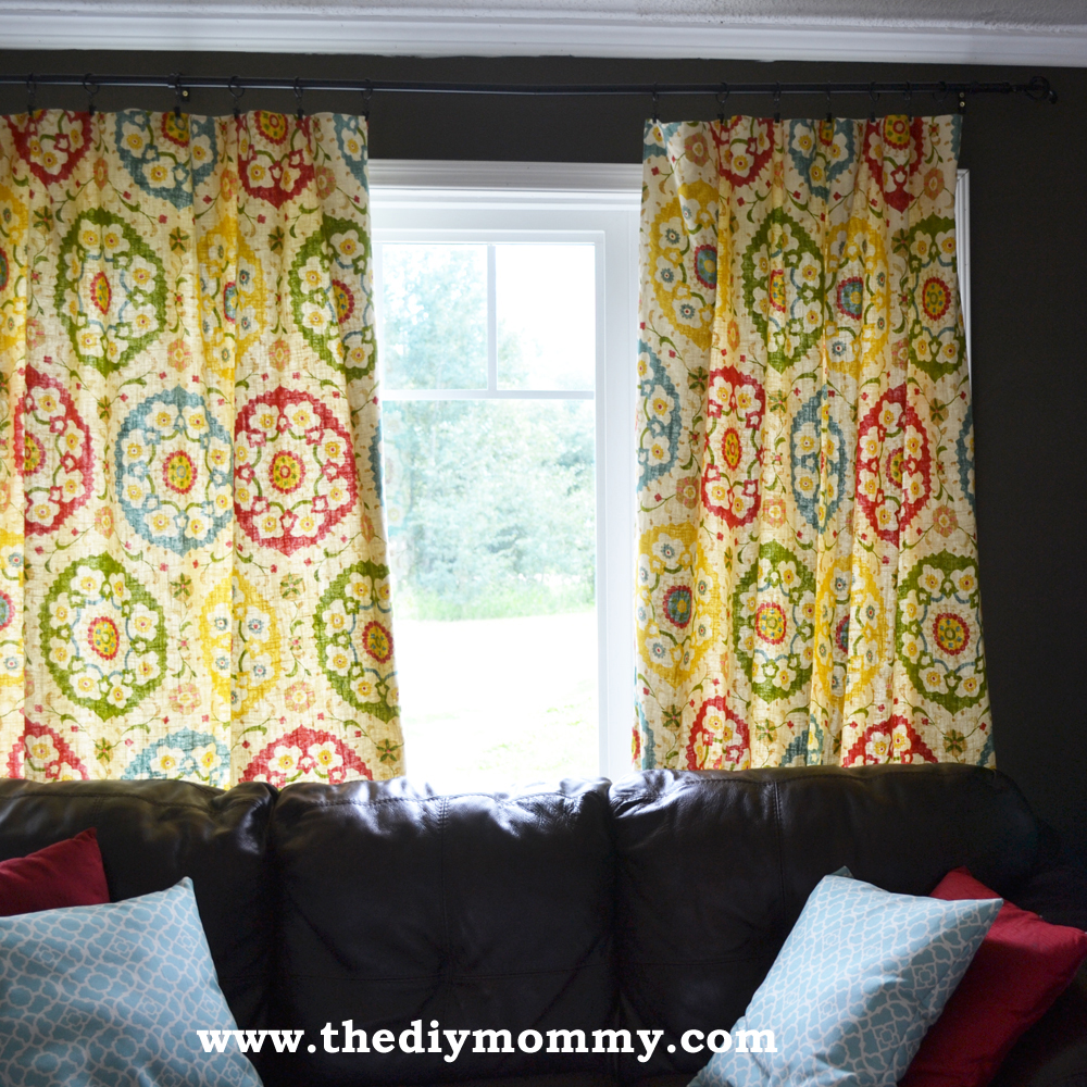Make Designer Drapes the Easy Way by The DIY Mommy