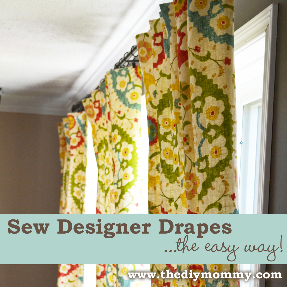 Sew Designer Drapes the Easy Way
