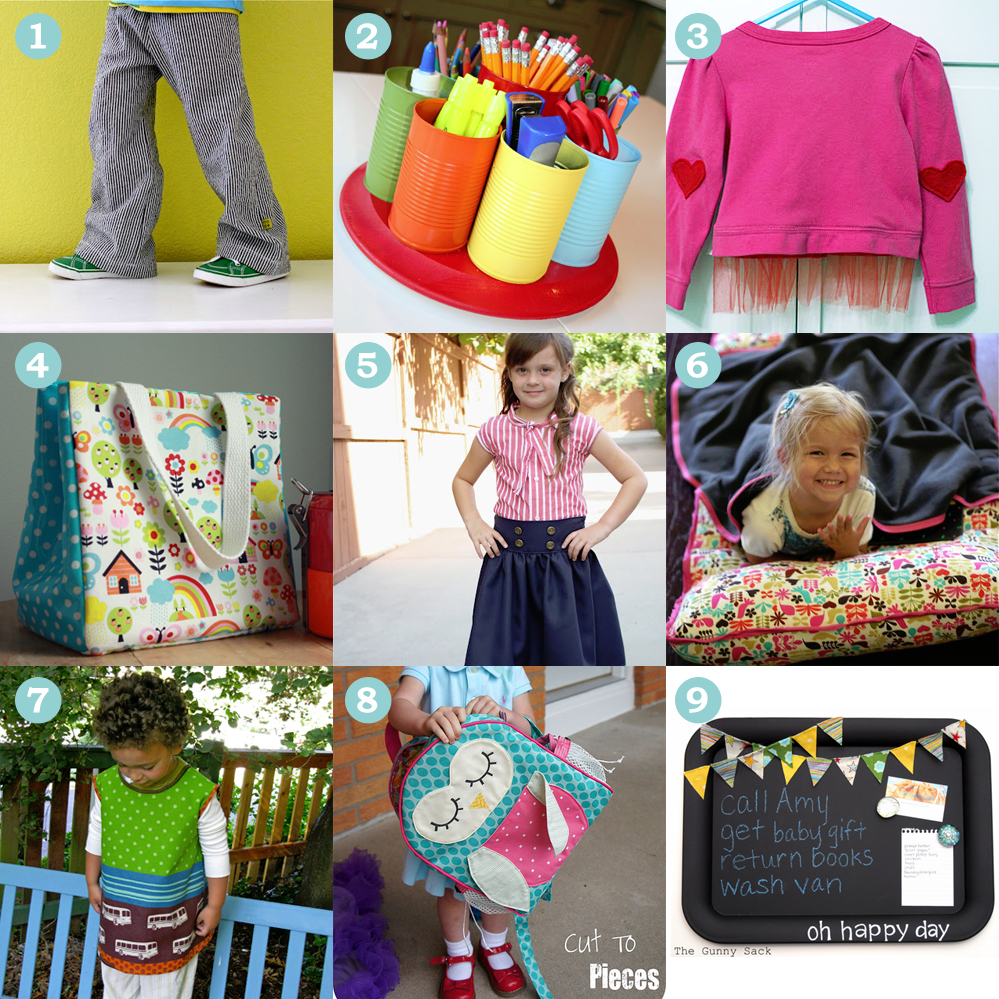 9 Favourite Back-To-School DIY Tutorials