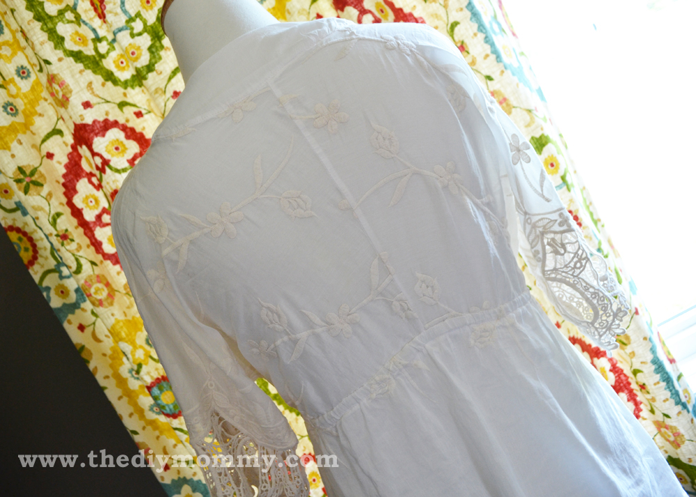 DIY Boho Blouse by The DIY Mommy