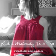Knit a Maternity Tank Top