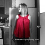 Knit a Maternity Tank Top by The DIY Mommy