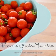 Preserve Garden Tomatoes