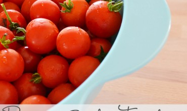 How to Preserve Garden Tomatoes by The DIY Mommy