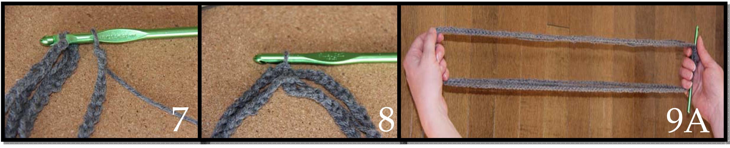 DIY Simple Crochet Infinity Scarf