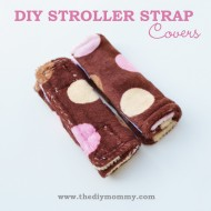 Sew Stroller & Carseat Strap Covers