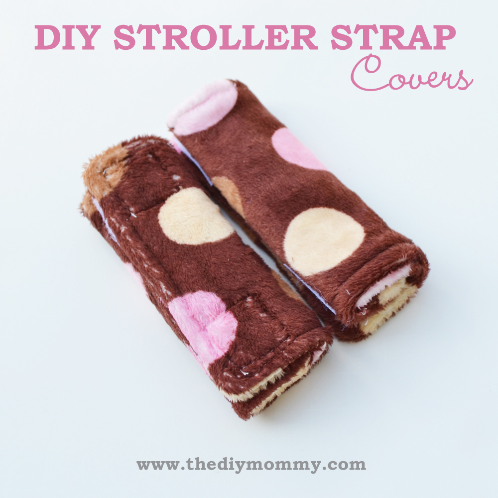 DIY Stroller & Carseat Strap Covers by The DIY Mommy
