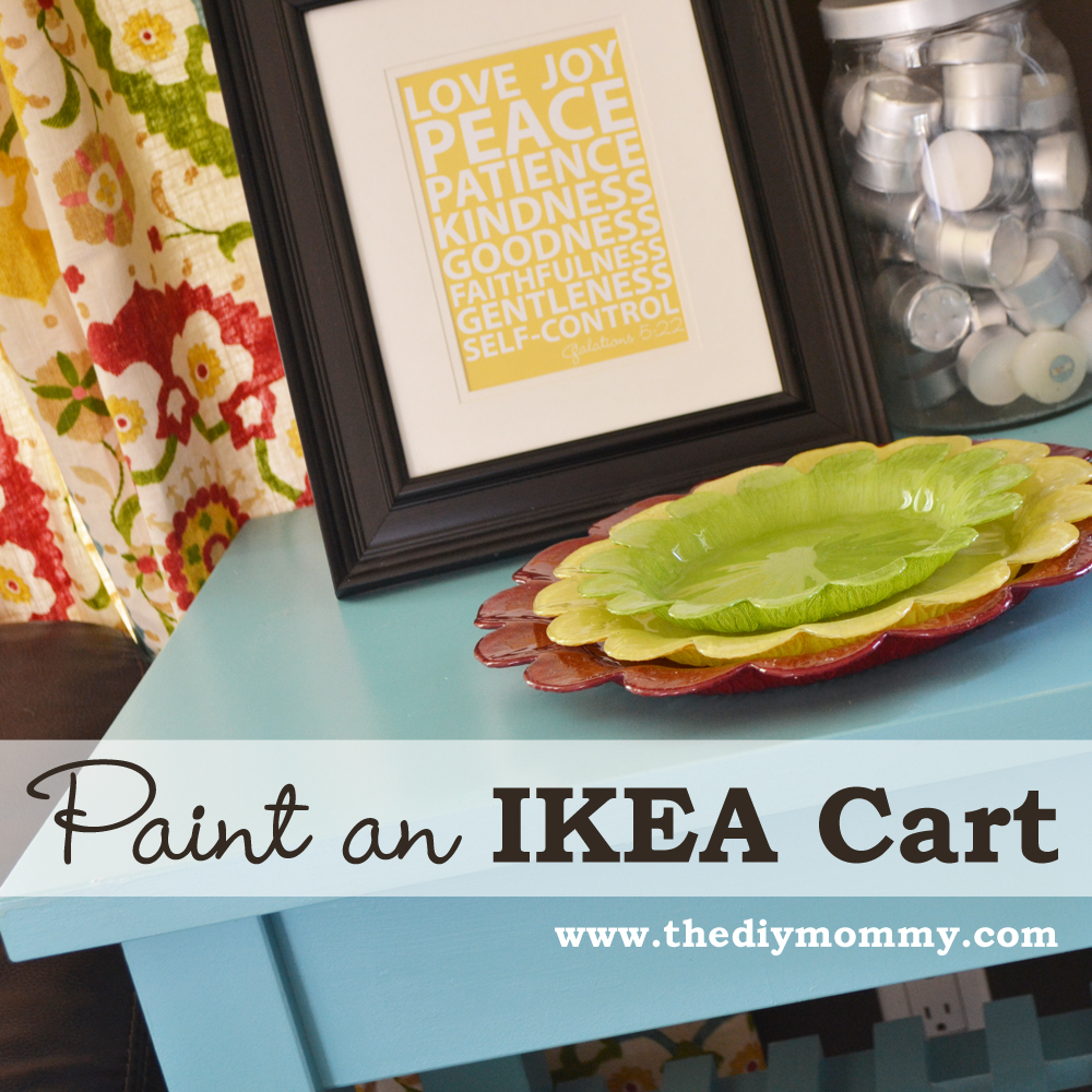Paint an IKEA Cart
