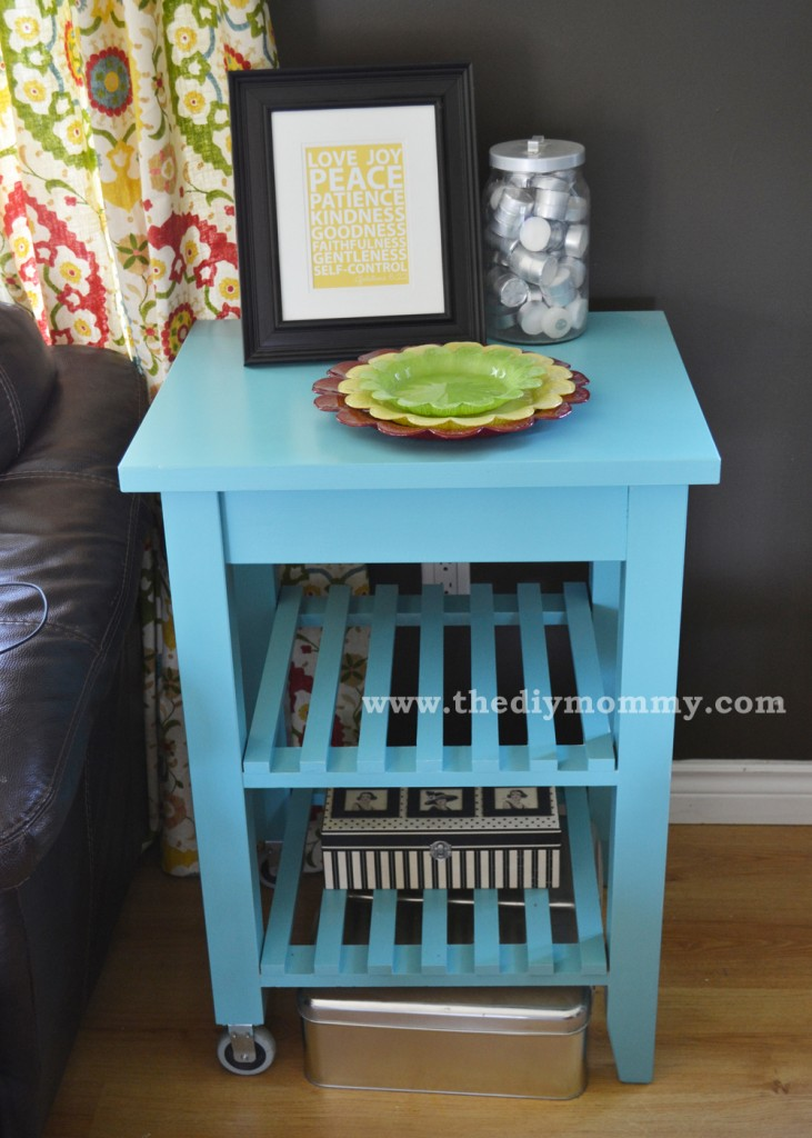 Paint an IKEA Cart by The DIY Mommy