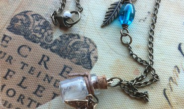 Create a Keepsake Necklace by Cheryl Sheeler for The DIY Mommy