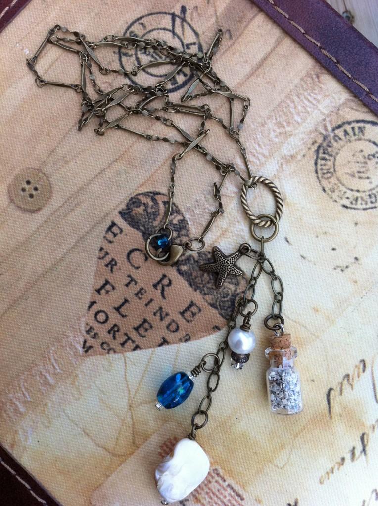 Create a Keepsake Necklace by Cheryl Sheeler for The DIY Mommy