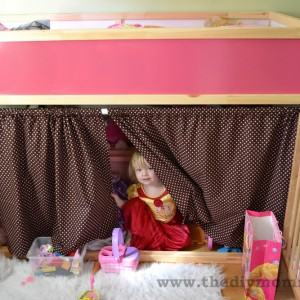Modify an Ikea Kura Bunk Bed
