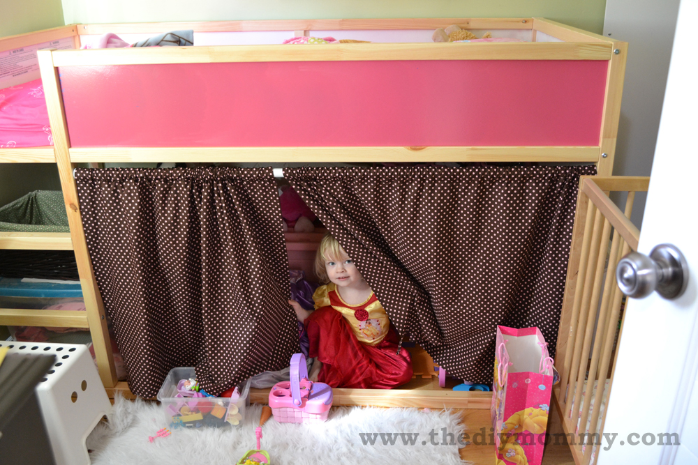Modify An Ikea Kura Bunk Bed The Diy Mommy