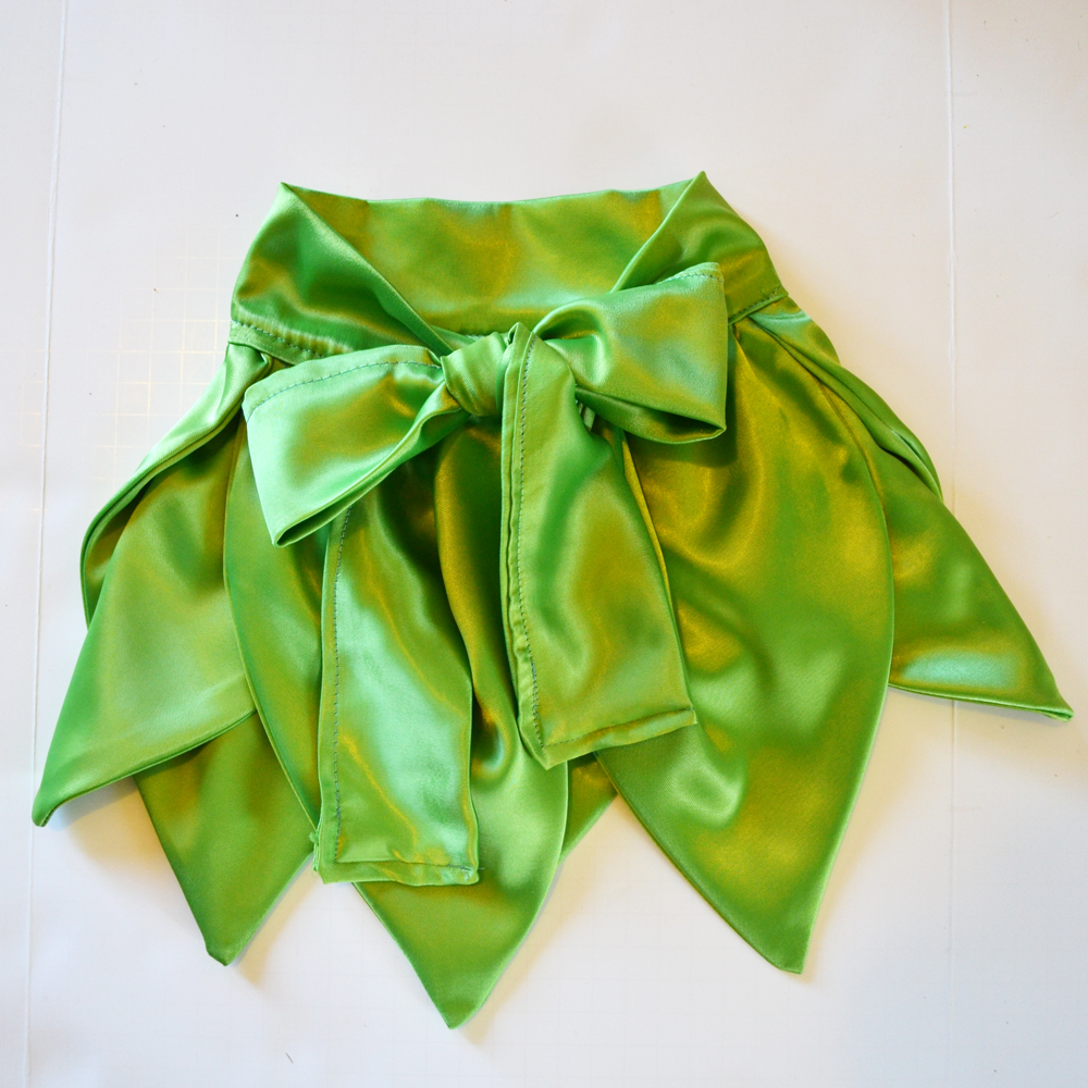 Sew a Tinkerbell Skirt & Top by The DIY Mommy