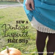 Sew a Vintage-Inspired Half Slip