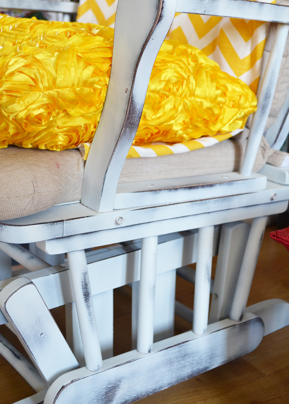 Image of: Update A Nursery Glider Rocking Chair The Diy Mommy