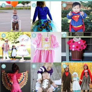 9 Favourite DIY Baby & Kid's Costumes