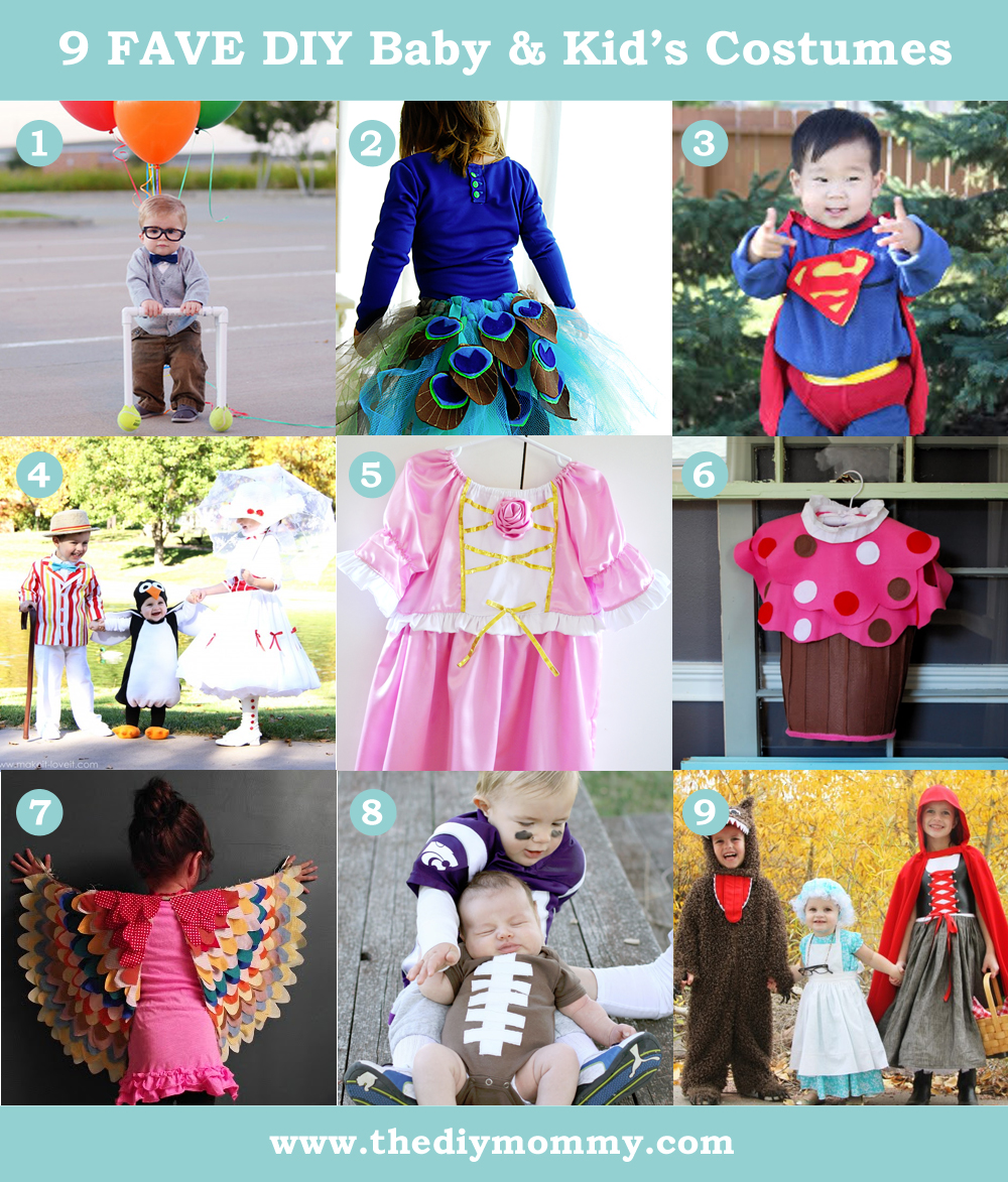 df2673cd815 9 Favourite DIY Baby & Kid's Costumes | The DIY Mommy