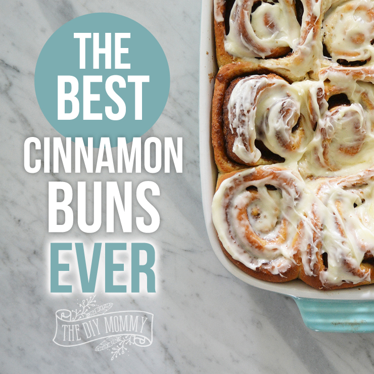 This cinnamon bun recipe tastes exactly like Cinnabon! So delicious!