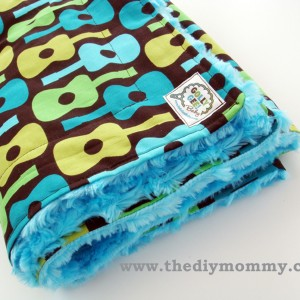Sew a Boutique Blanket – For Baby!