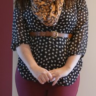 Wear Burgundy Skinnies & Tights (& Why I Finally Added My Full Body Shot to This Post) – Petite Curvy Mom Style