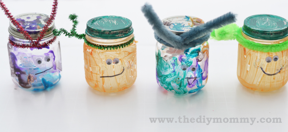 Toddler Activity Recycle Baby Food Jars Into Pumpkins And
