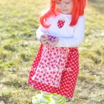 Sew a Strawberry Shortcake Costume by The DIY Mommy