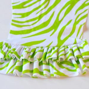 Sew a Strawberry Shortcake Costume by The DIY Mommy - Ruffled Leggings