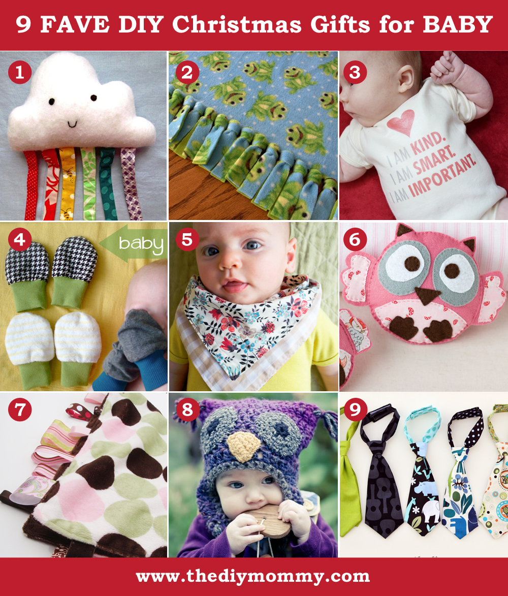 Baby Gift Ideas For Christmas : A handmade christmas diy baby gifts the mommy
